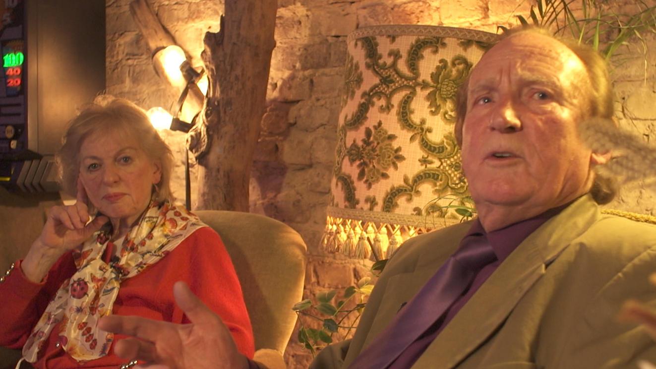 Ingrid Kalinowski, hier mit Ehemann Klaus, starb im Alter von 84 Jahren