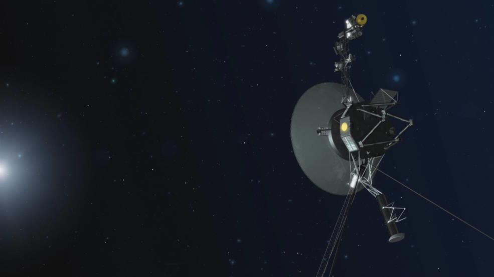 Die NASA-Raumsonde Voyager 1 ist seit ungefähr 44 Jahren im Weltall unterwegs.