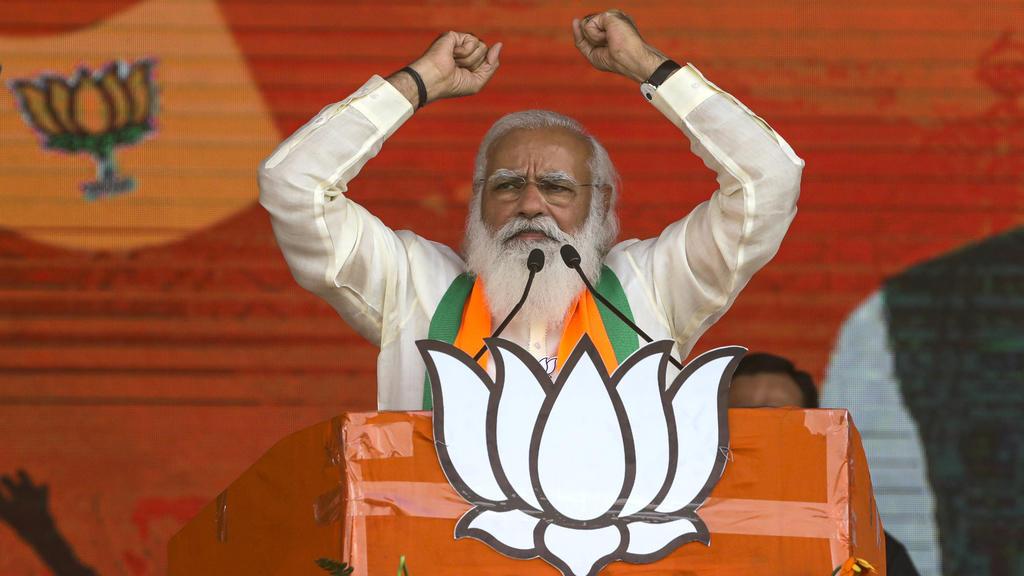 Premierminister Narendra Modi hatte die Pandemie bereits als besiegt erklärt.