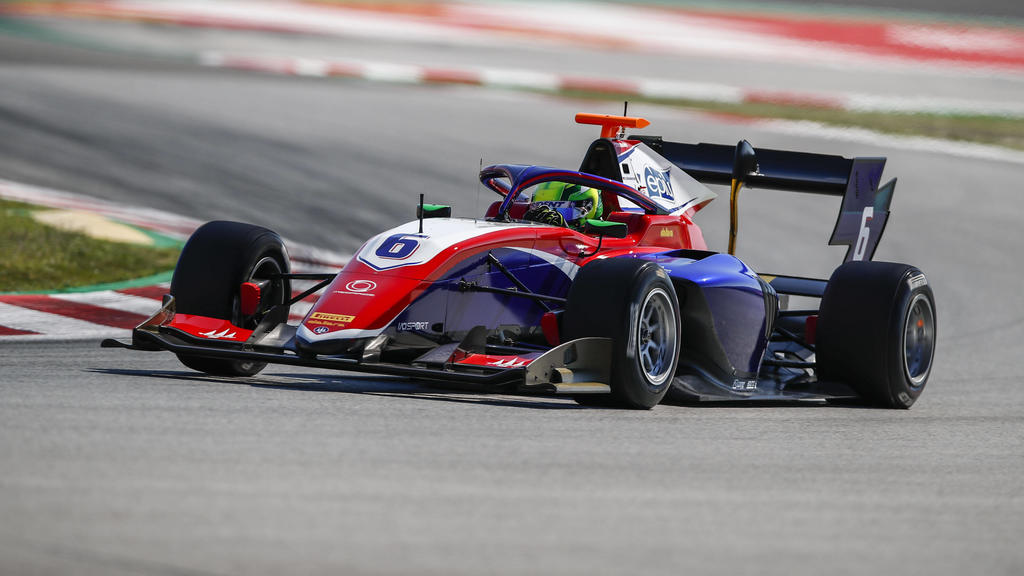 06 David Schumacher ger, Trient action during the 1st round of the 2021 FIA Formula 3 Championship from May 07 to 10, 2021 on the Circuit de Barcelona-Catalunya, in Montmelo, near Barcelona, Spain FORMULE 3 : Grand prix d Espagne - Barcelone - 08/05