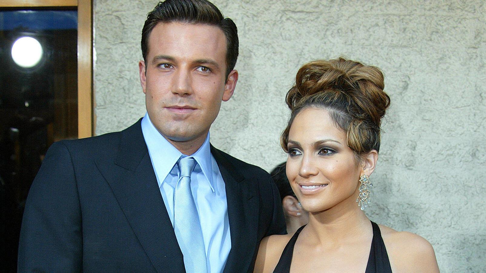 Ben Affleck und Jennifer Lopez bei einem Auftritt im Juli 2003