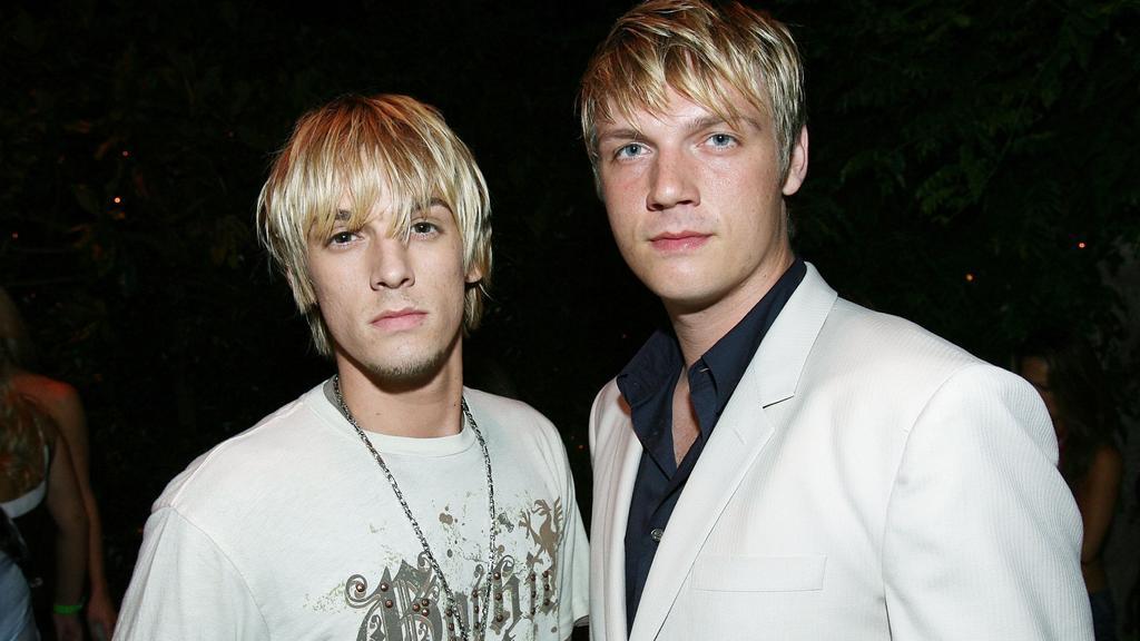 Aaron und Nick Carter im Juli 2006.
