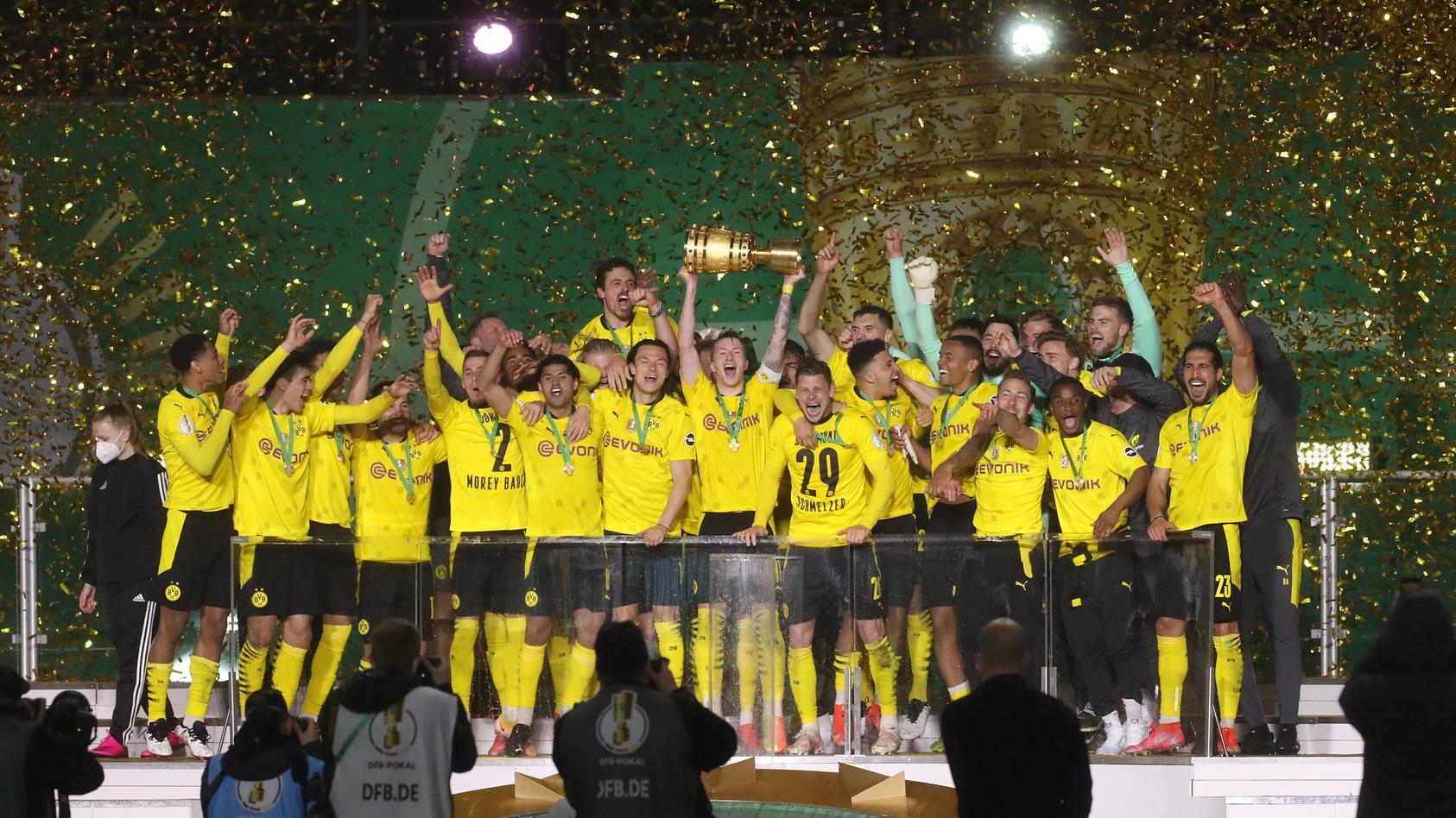 Borussia Dortmund wurde zum fünften Mal Pokalsieger.