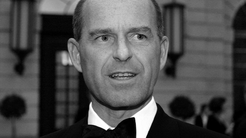 Karl Erivan Haub Geschäftführender Gesellschafter Unternehmensgruppe Tengelmann auf der 105. Jahresversammlung der Amerikanischen Handelskammer in Deutschland, Berlin