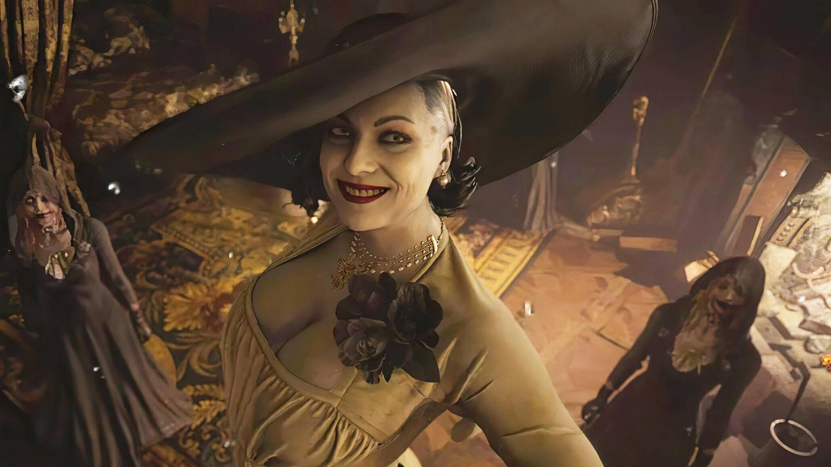 Die übergroße Lady Dimitrescu ist ganz klar einer der Highlight-Charaktere in Resident Evil 8.