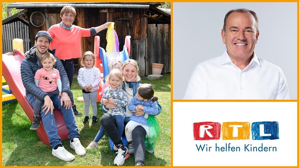 """Aktion """"Fit durch den Frühling"""" der Stiftung """"RTL - Wir helfen Kindern"""": Mehr Bewegung für Kinder"""