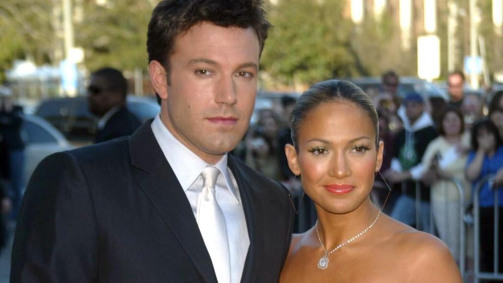 Alte Liebe rostet nicht: Ben Affleck und Jennifer Lopez, 2003.