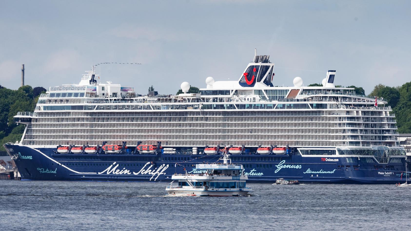 «Mein Schiff» startet Pfingstsonntag in die Saison