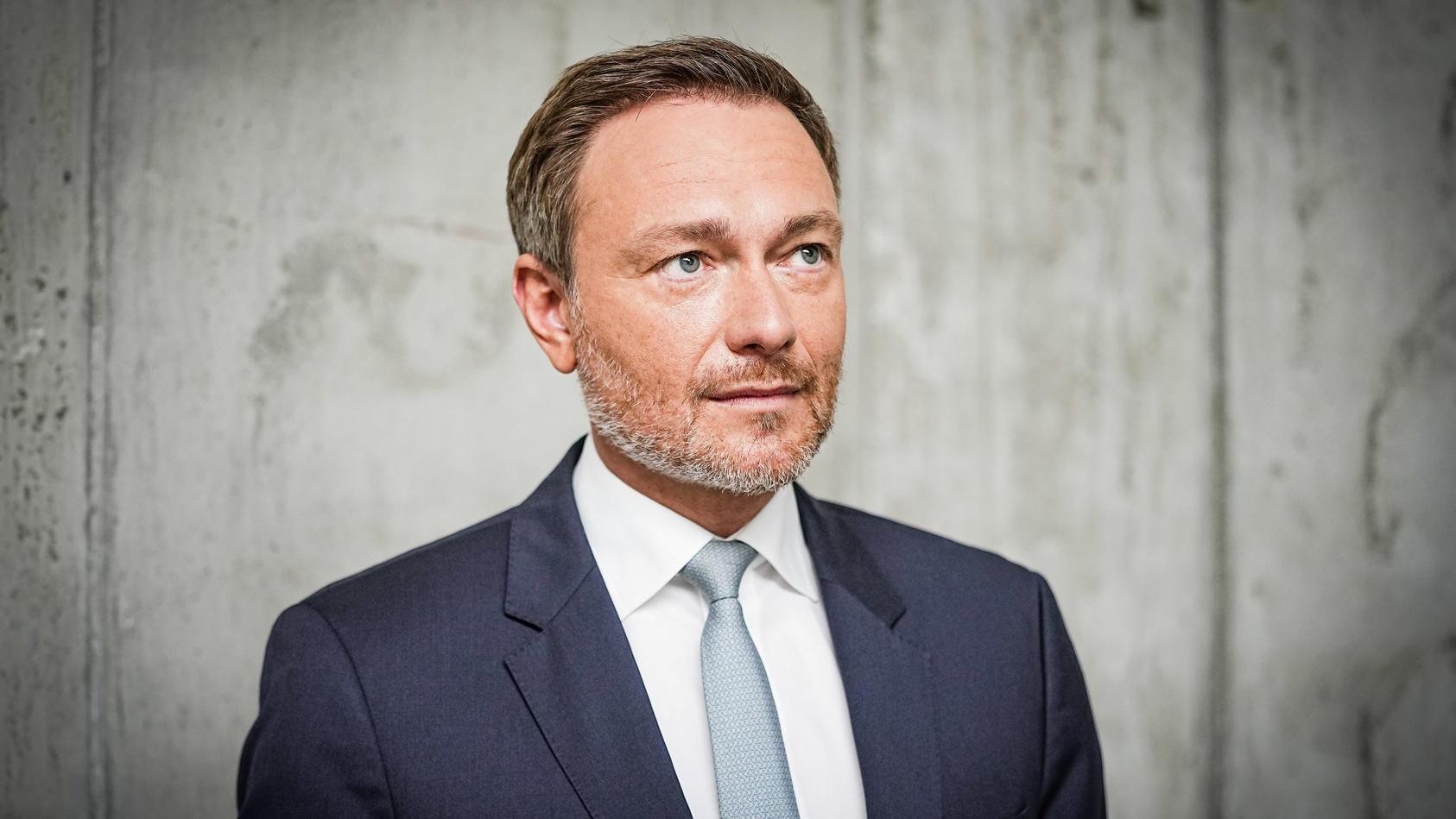"""FDP Bundesvorsitzender Christian Lindner ist im Podcast """"heute wichtig"""" zur Gast."""
