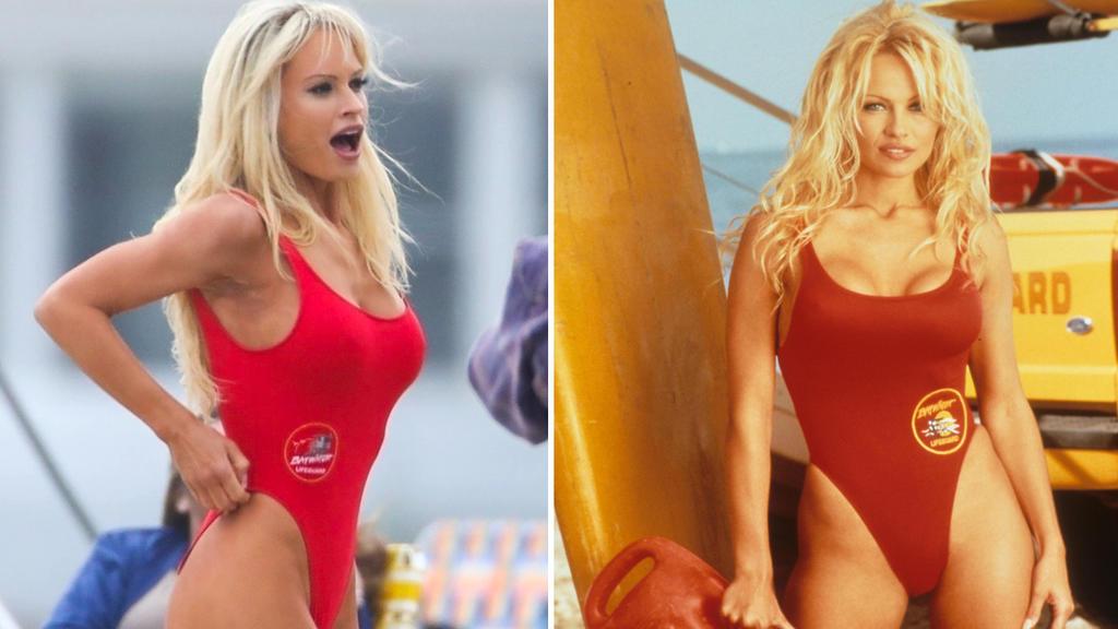 Lily James und Pamela Anderson