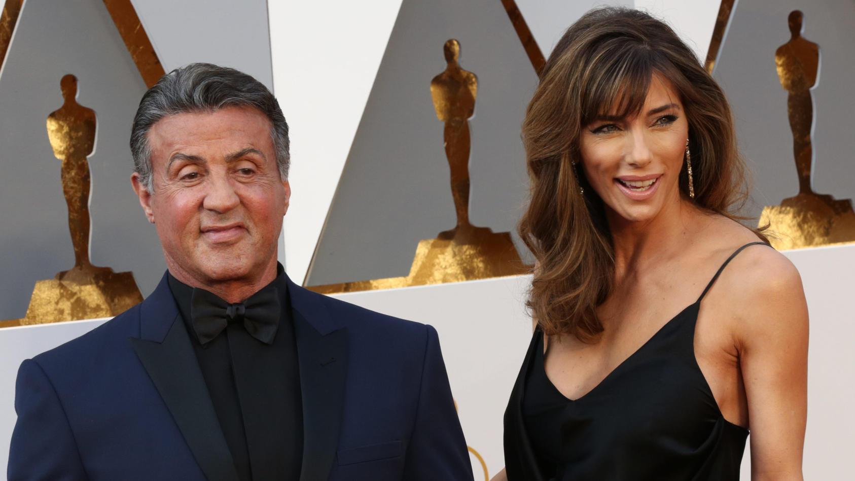 Sylvester Stallone und Ehefrau Jennifer Flavin feiern ihren 24. Hochzeitstag.