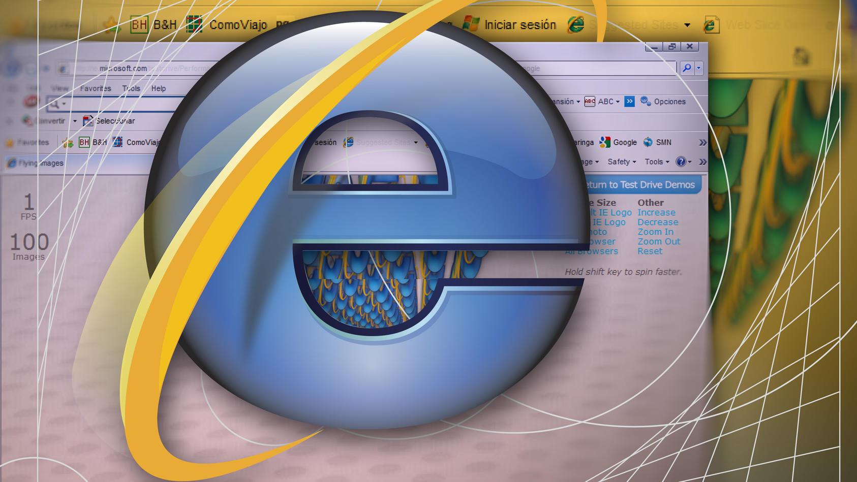 """Nächstes Jahr ist Schluss: Dann heißt es """"Tschüss Internet Explorer""""."""