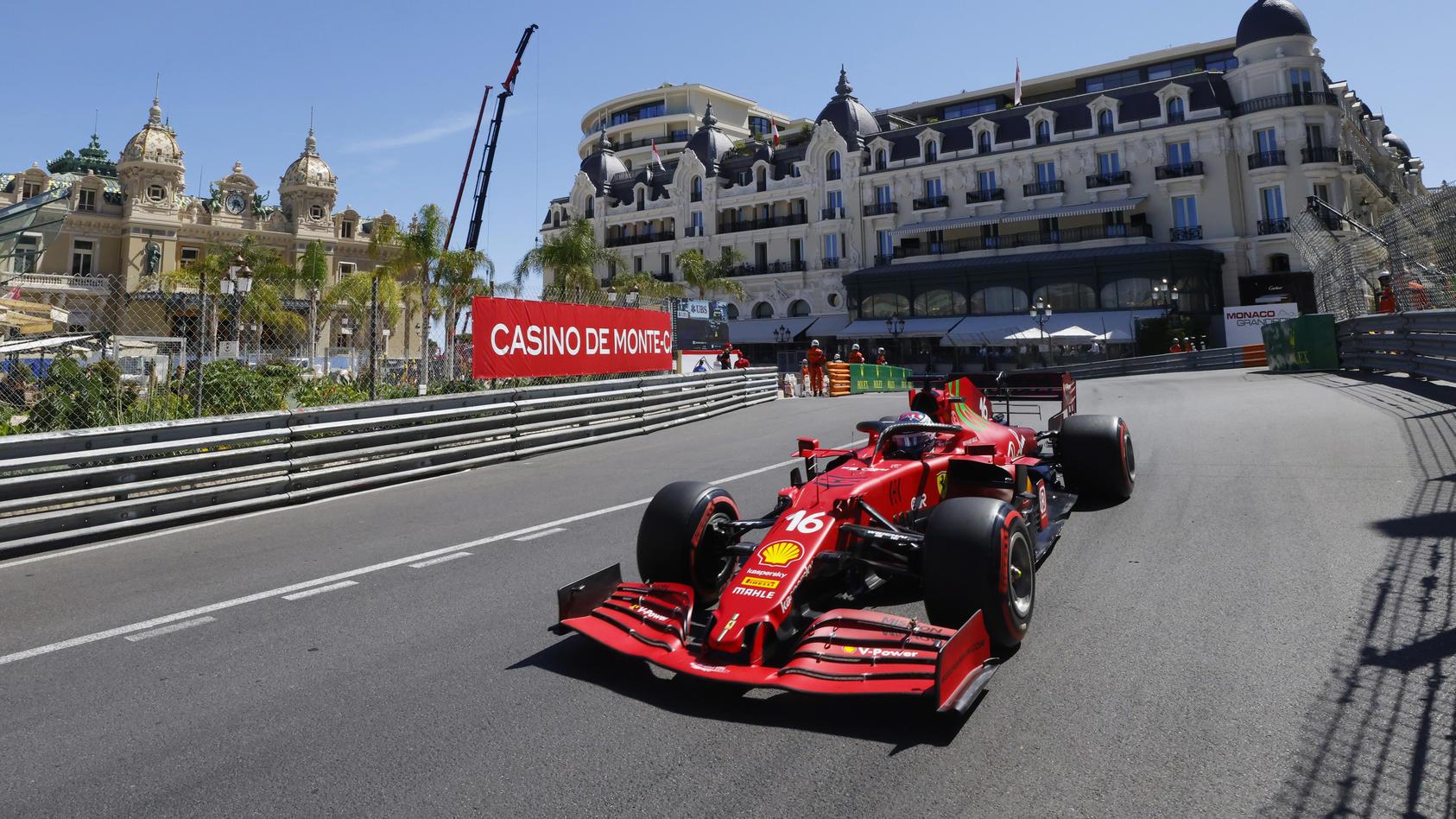 Charles Leclerc muss sich bei seinem Heimspiel in Monaco an einen neuen Rhythmus gewöhnen.