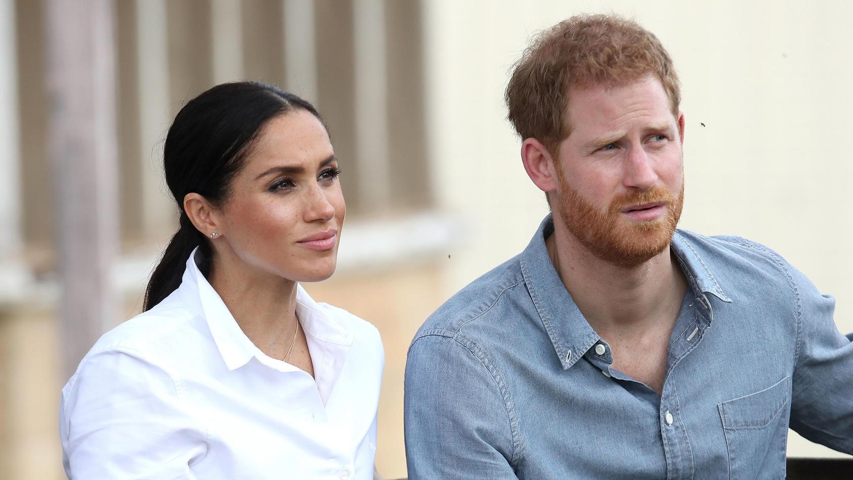 Prinz Harry hatte Angst um seine Beziehung mit Herzogin Meghan und ihr Wohlergehen.