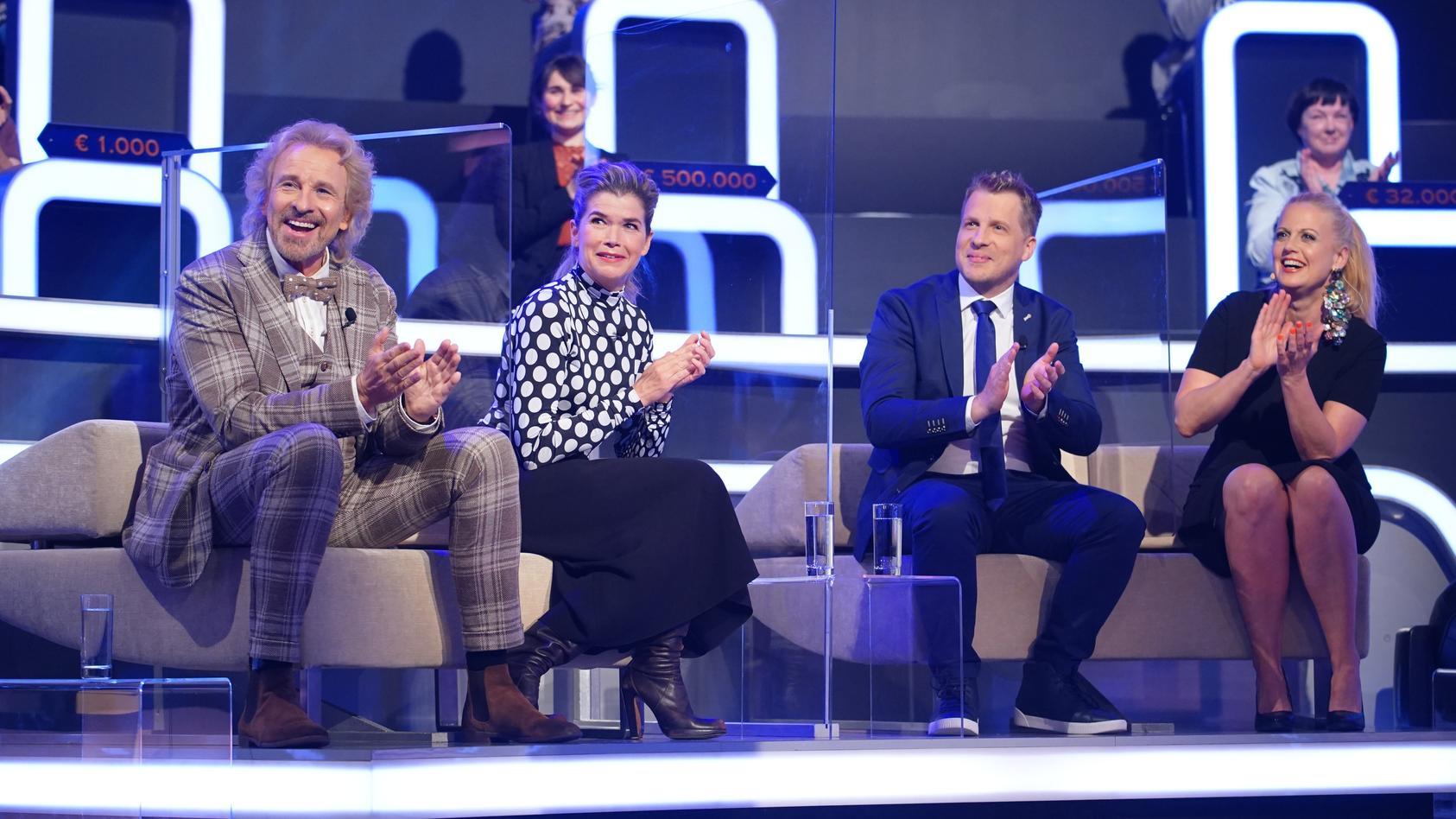 Günther Jauchs prominente Zocker-Kandidaten: Thomas Gottschalk, Anke Engelke, Oliver Pocher und Barbara Schöneberger