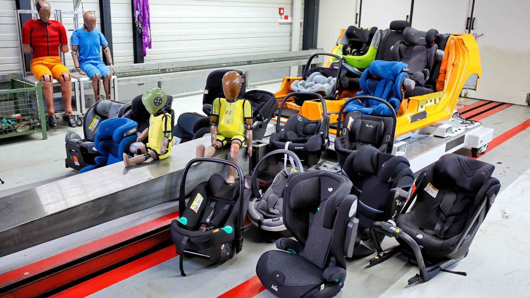 Kindersitze im ADAC-Test