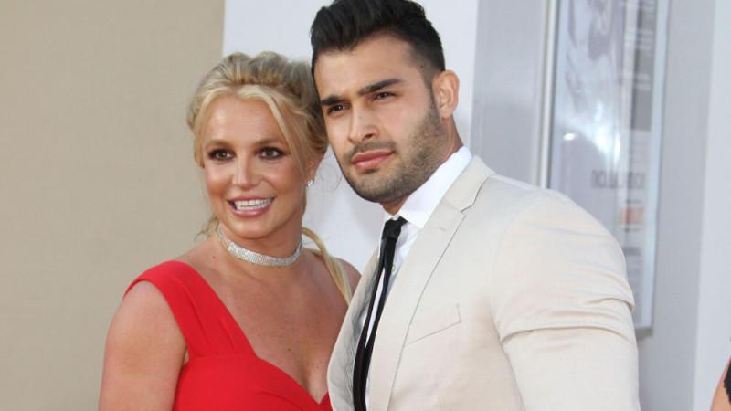 Britney Spears und Sam Asghari sind ein Herz und eine Seele.