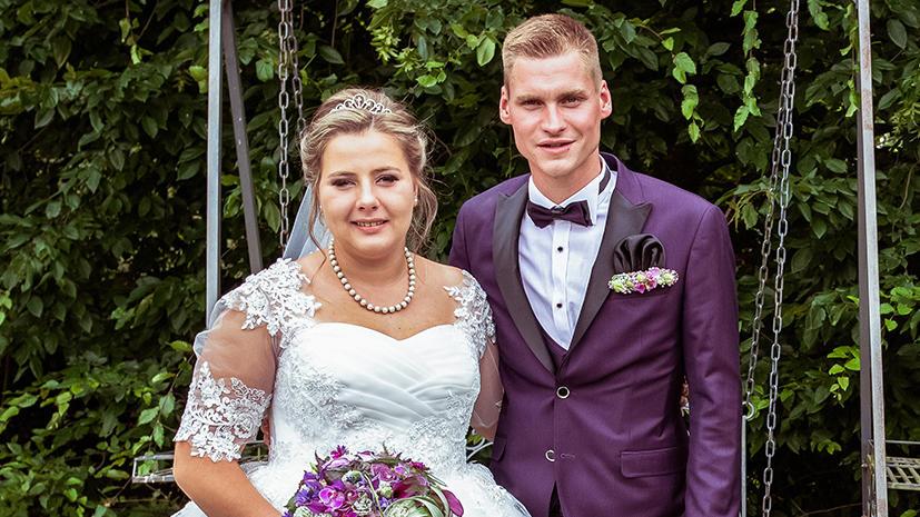 Sarafina und Peter Wollny heirateten vor zwei Jahren.