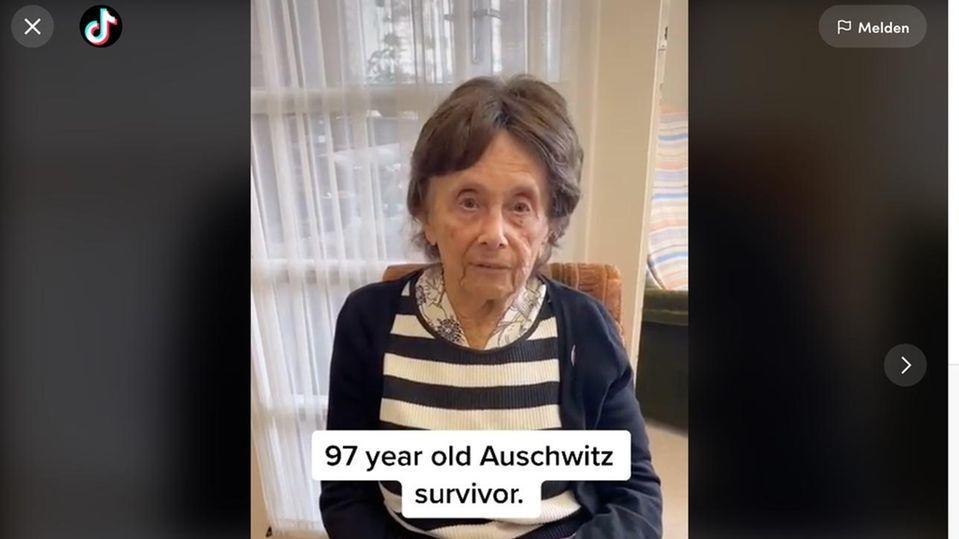 Lily Ebert (97) erinnert auf Social Media junge Menschen an die Verbrechen  Dritten Reichs.