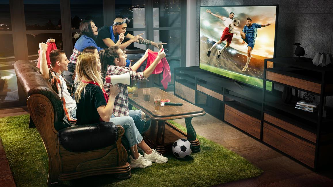 Mit dem richtigen Fernseher macht die EM gleich doppelt Spaß.