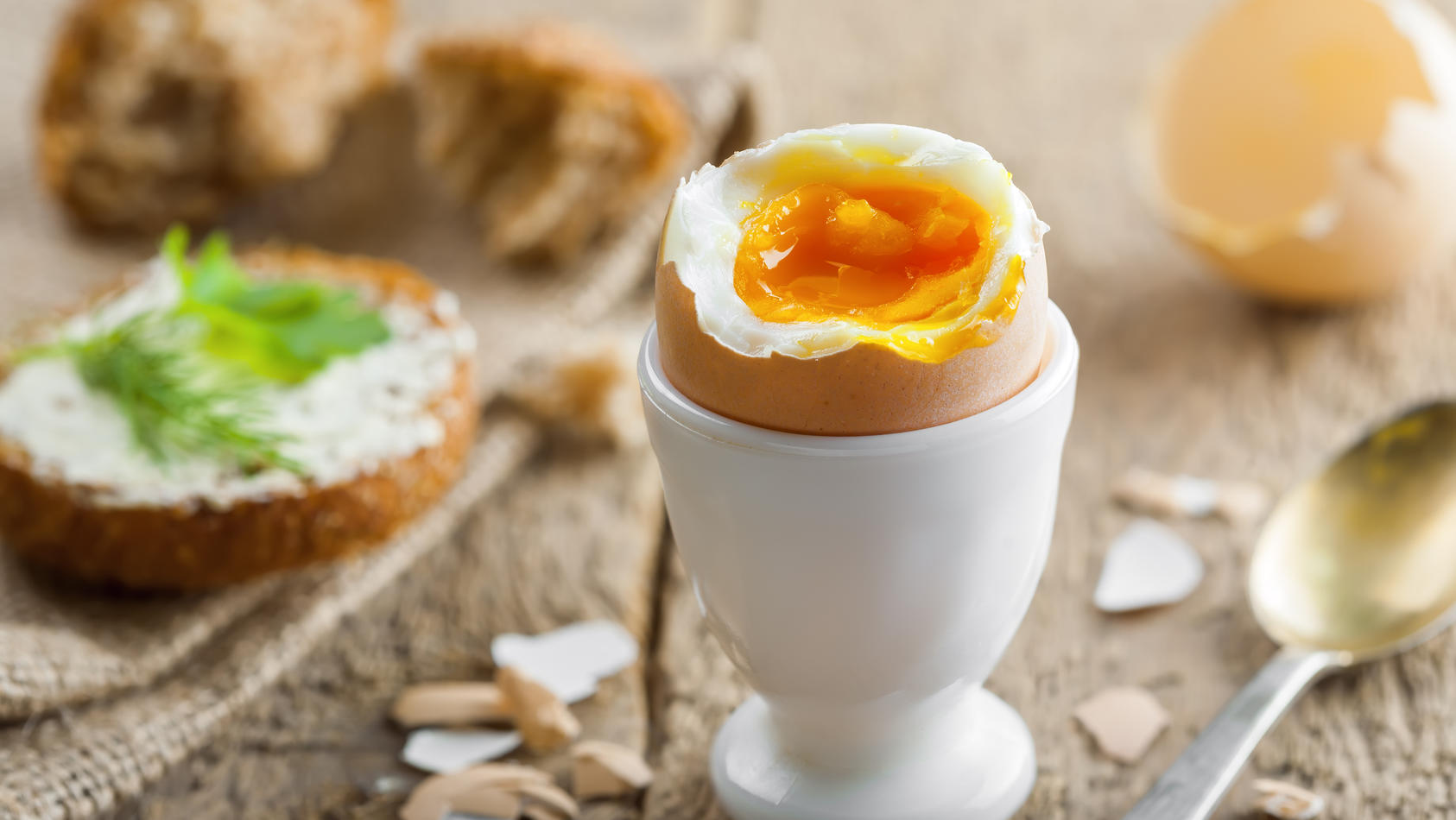 Das perfekte Frühstücksei? Geht ganz leicht!
