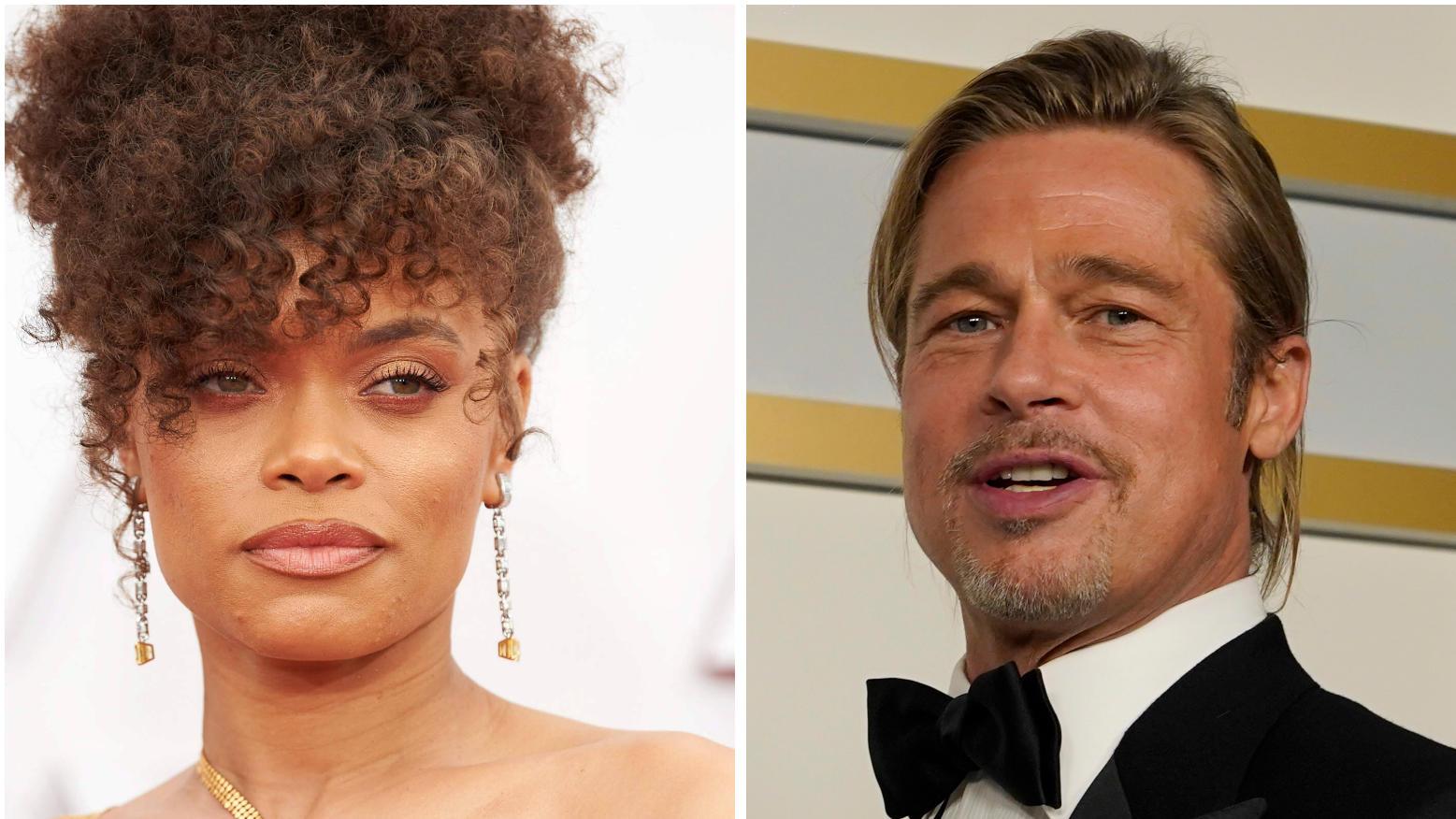 Um Andra Day und Brad Pitt kursieren Liebesgerüchte.