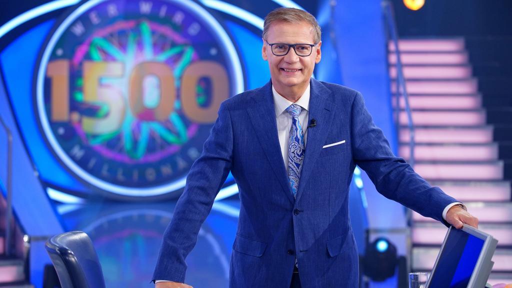 """""""Wer wird Millionär?""""-Moderator Günther Jauch feiert ein großes Jubiläum: 1.500 Folgen der Quizshow!"""