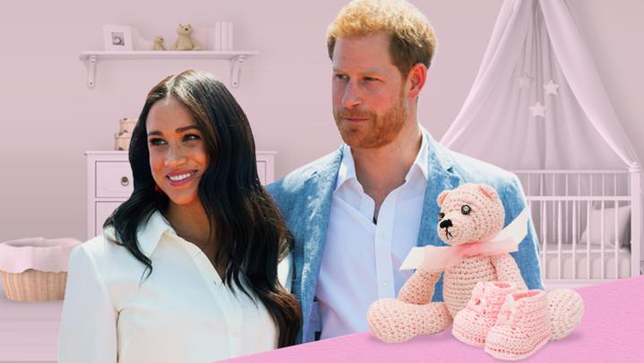 Herzogin Meghan und Prinz Harry erwarten ihr zweites Kind. Es wird ein Mädchen.