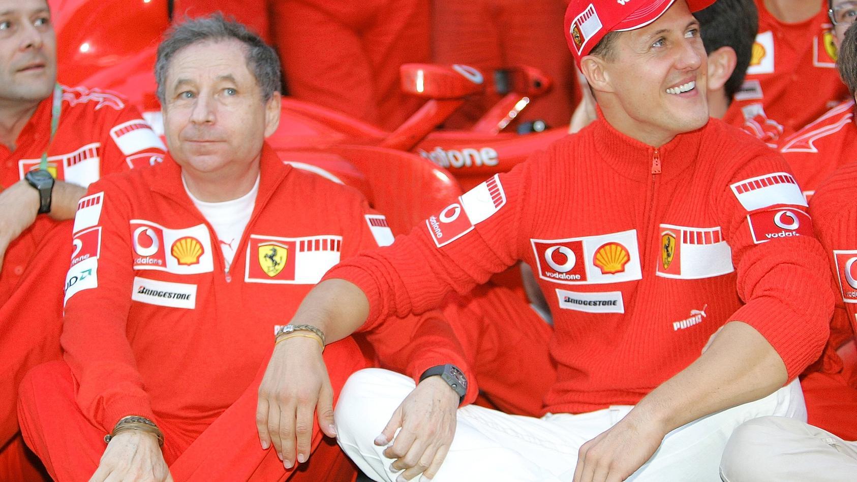 Michael Schumacher Und Jean Todt Warum Ihr Verhaltnis So Besonders Ist