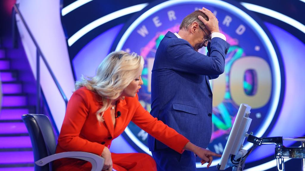 Evelyn Burdecki lässt Günther Jauch schon bei der 5-Euro-Frage verzweifeln.