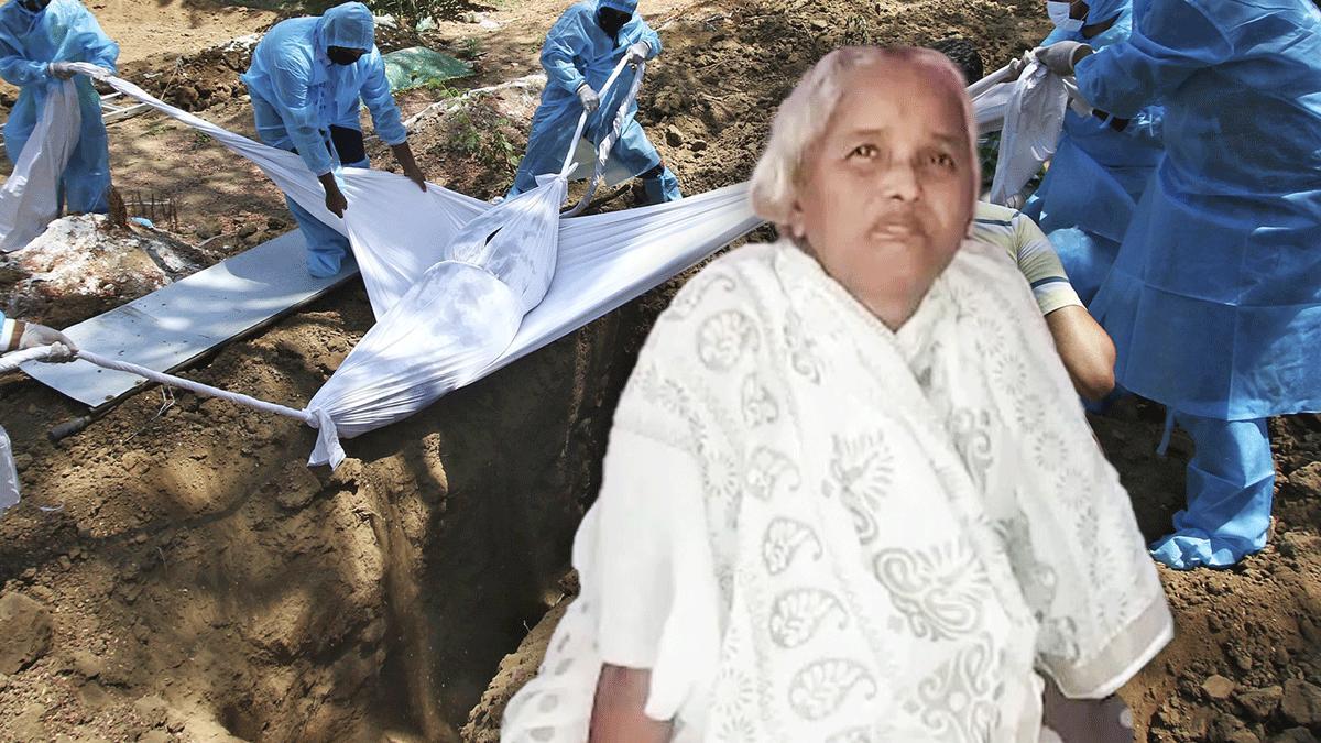 Gaddayya Girijamma dachte, dass er seine Frau beerdigt. Doch die war gar nicht tot.