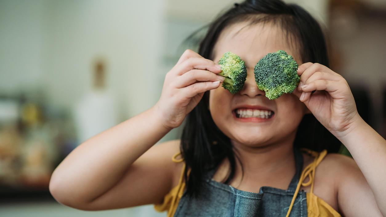 Kinder, die vegan ernährt werden, sind im Schnitt etwas kleiner als ihre Altersgenossen.