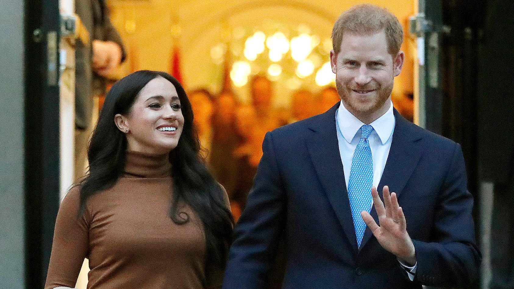 Herzogin Meghan und Prinz Harry freue sich über Nachwuchs.