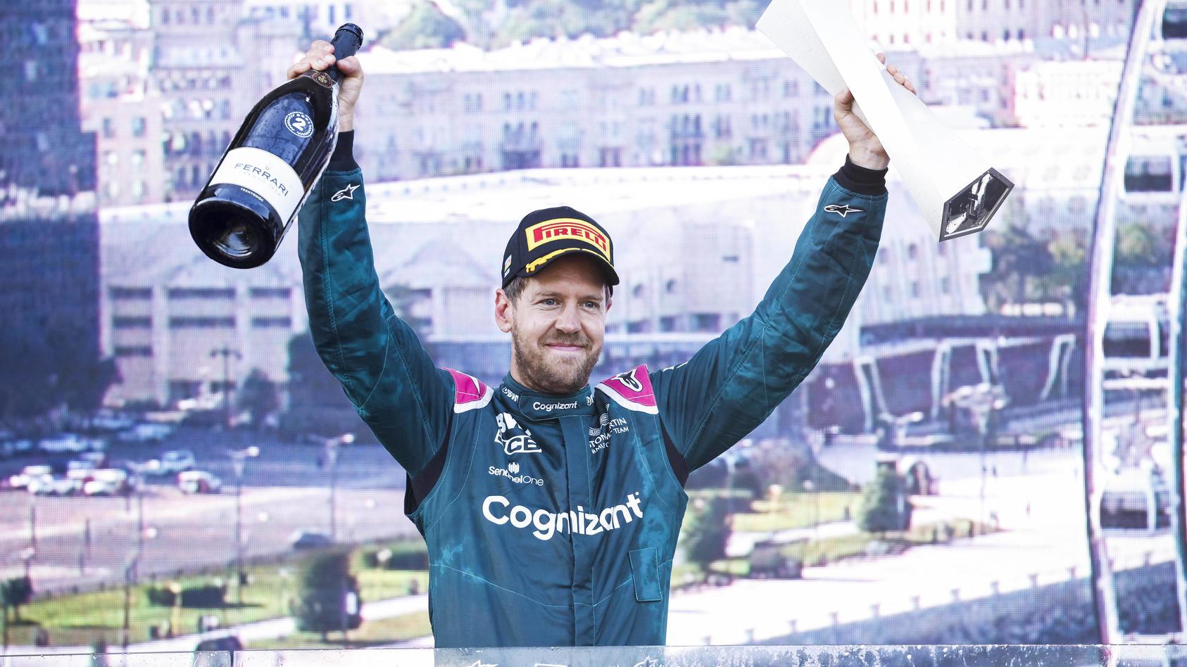 Sebastian Vettel will es mit Aston Martin auch 2022 in der Formel 1 wissen
