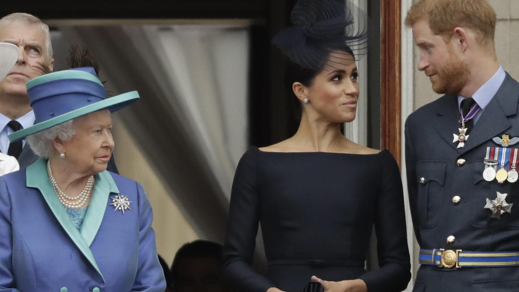 Haben Harry und Meghan den Namen ihrer Tochter vorab mit der Queen besprochen?