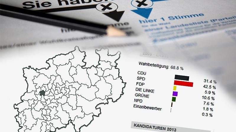 Einteilung der Wahlkreise (Themenbild)