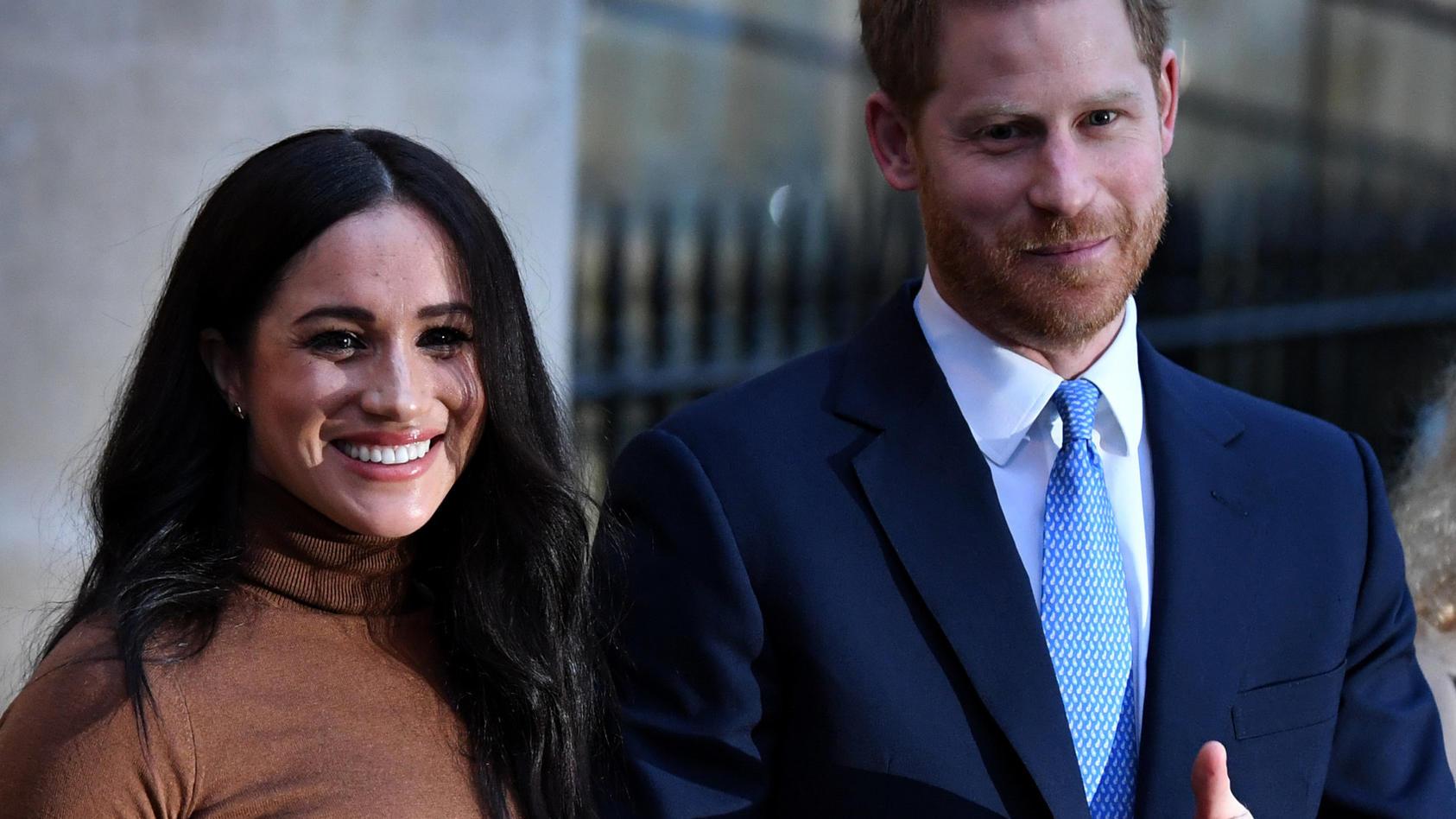 """Meghan und Harry sind wieder Eltern geworden. Tochter Lili soll """"wunderschön"""" aussehen."""
