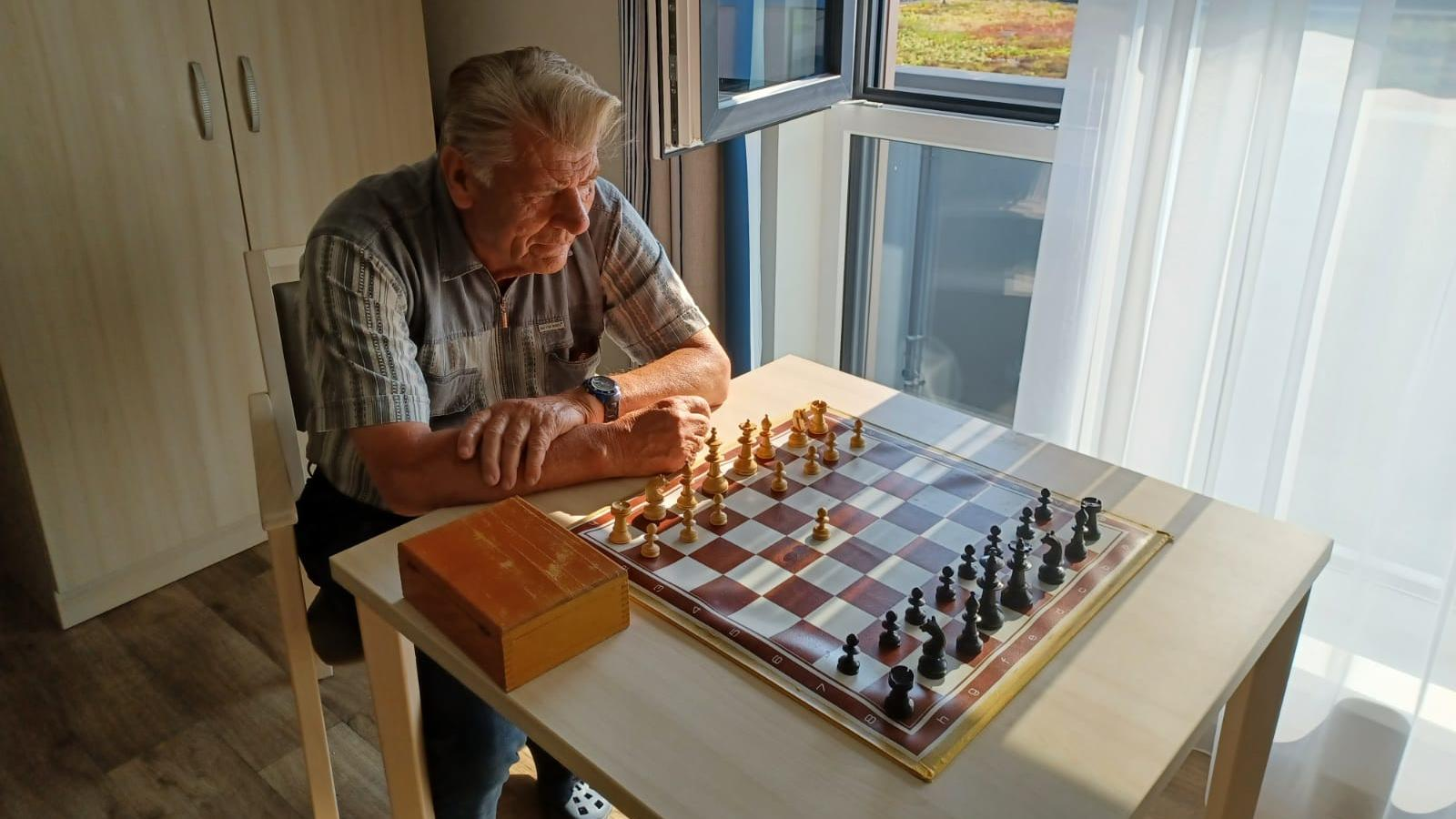 Die Passion für den Denksport hat Herrmann Semke schon. Das, was ihm fehlt ist ein Gegner.