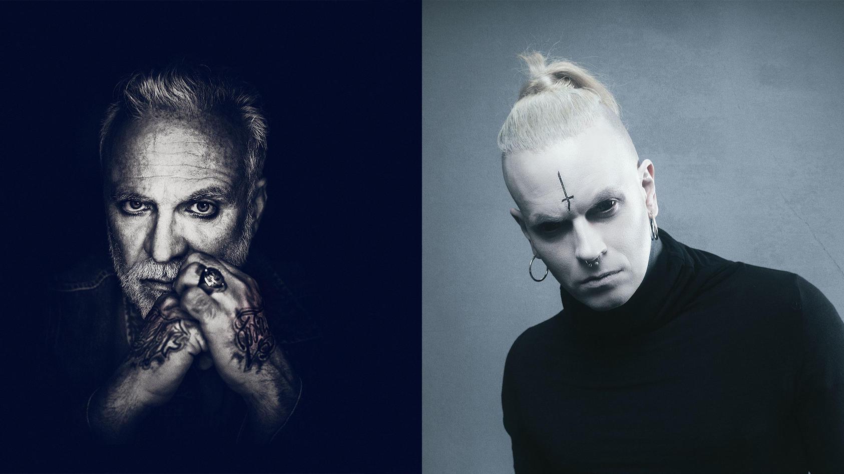 """Chris Harms (rechts) hat das Album """"Gesegnet und Verflucht"""" von Nino de Angelo produziert"""