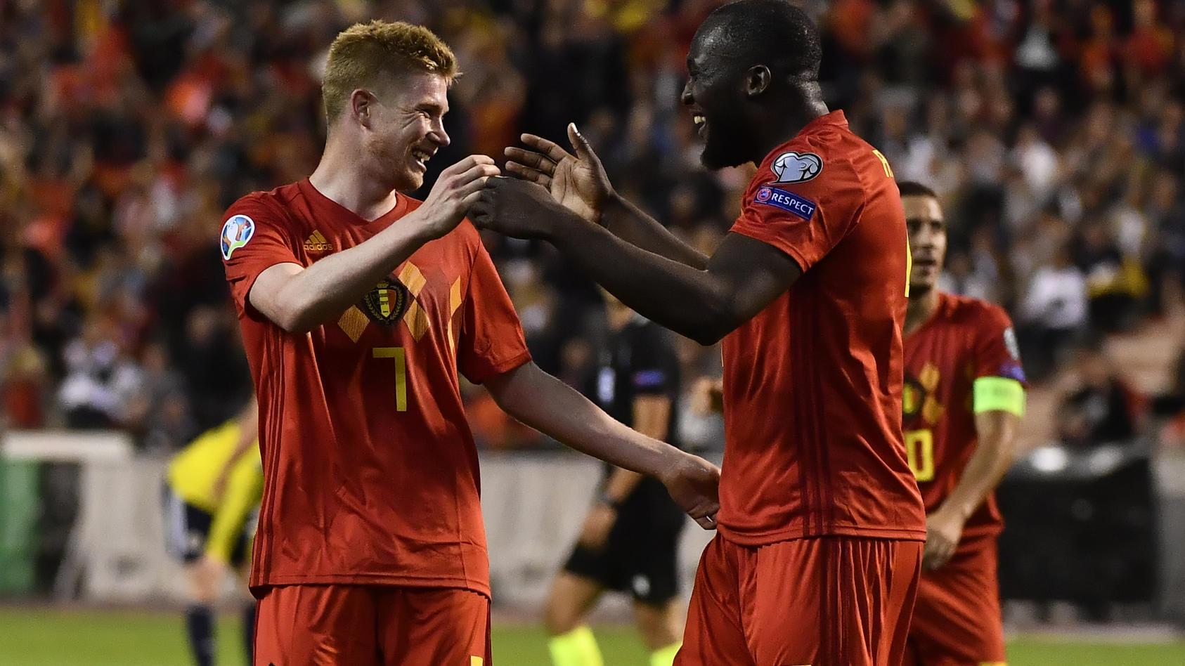 Kevin De Bruyne und Romelu Lukaku. Zwei Mitglieder der goldenen Generation der Belgier