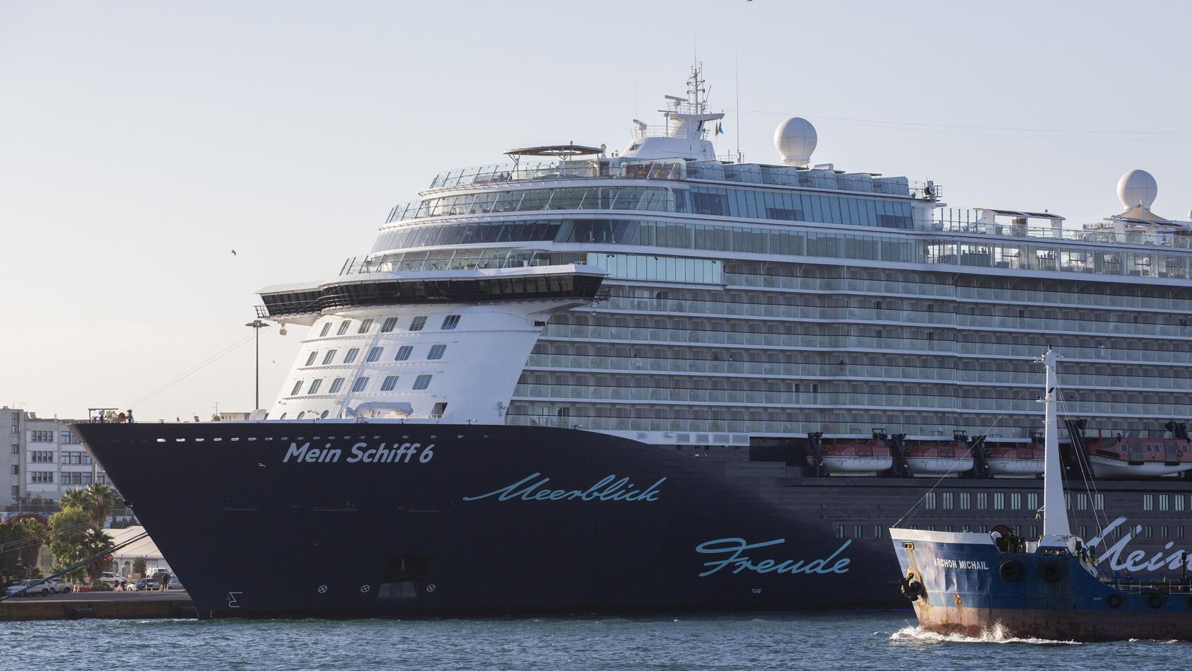 """""""Mein Schiff 6"""" startet ab Freitag, den 11.06.2021 nicht wie geplant ab Hamburg, sondern ab Kiel!"""