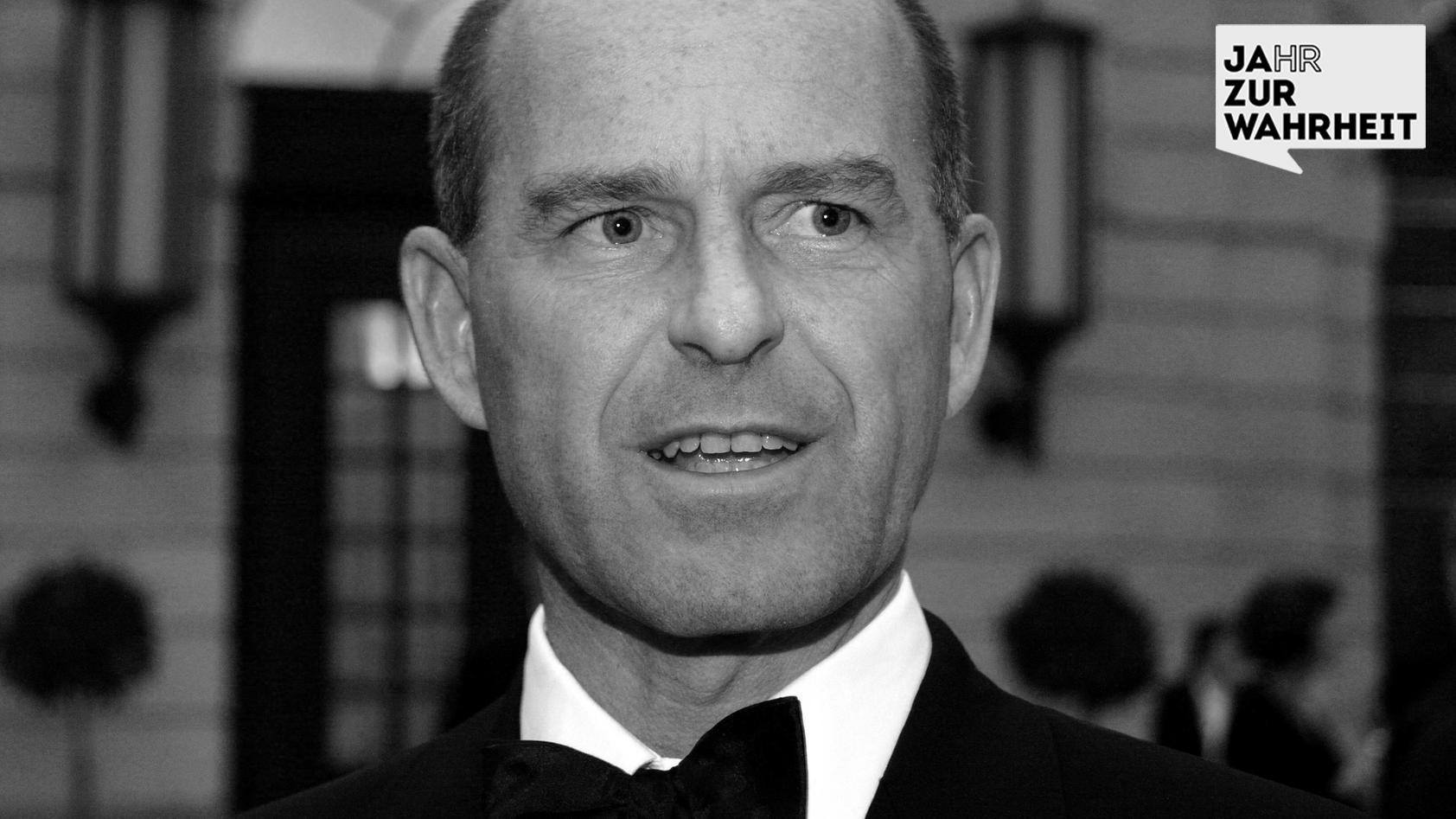 Karl Erivan Haub - hier noch als Geschäftführender Gesellschafter Unternehmensgruppe Tengelmann
