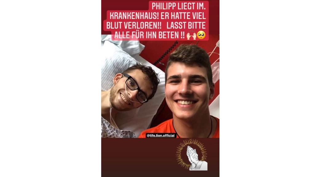 Freunde von Youtuber Philipp Mickenbecker geben Updates über den Zustand des 24-Jährigen.