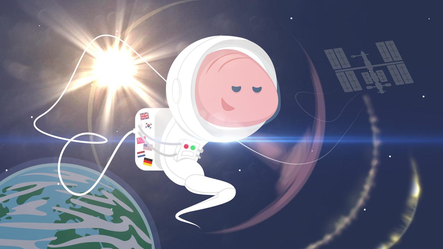 Mit den Astronauten-Würmern soll der Muskelschwund im All weiter erforscht werden.