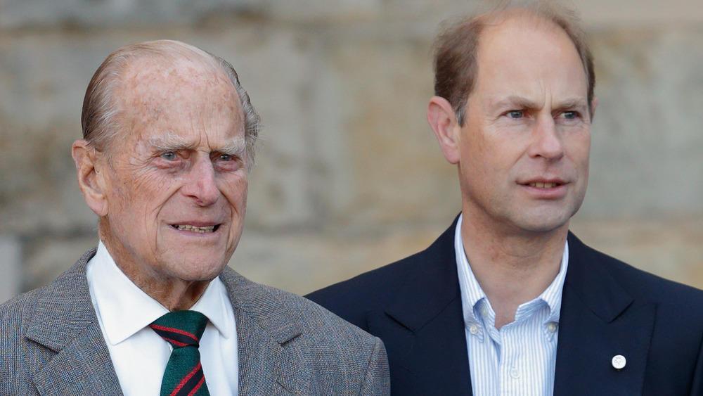 Prinz Edward spricht erstmals über seinen verstorbenen Vater Prinz Philip