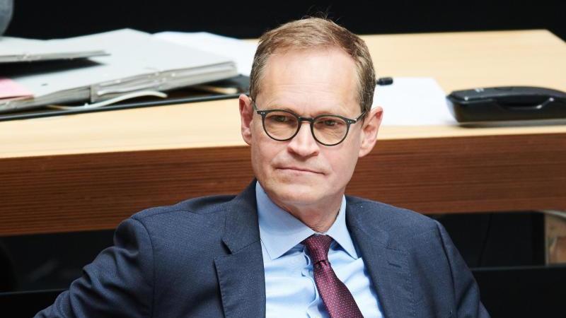 Der Regierende Bürgermeister von Berlin, Michael Müller (SPD). Foto: Annette Riedl/dpa/Archivbild