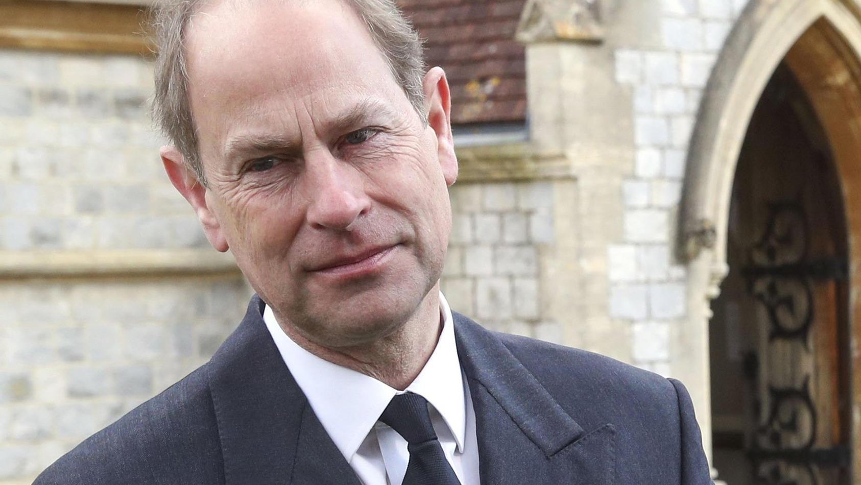 Queen-Sohn Prinz Edward äußert sich über die angespannte Situation mit Harry und Meghan.