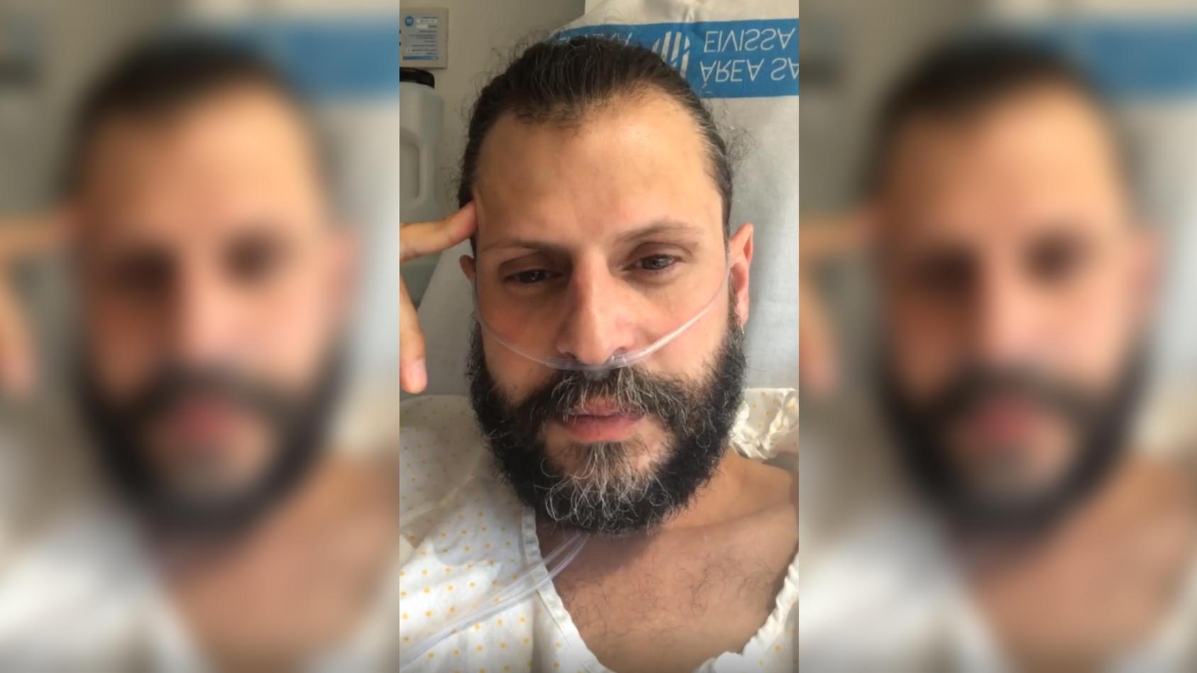Manuel Cortez gibt ein Gesundheitsupdate aus dem Krankenbett.