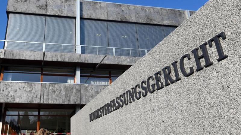DasBundesverfassungsgericht in Karlsruhe. Foto: Uli Deck/dpa/Archiv