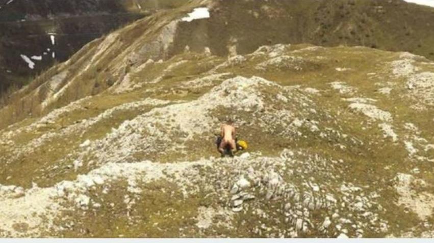 Ein Pärchen trieb es in Kärnten auf 2.000 Metern Höhe.